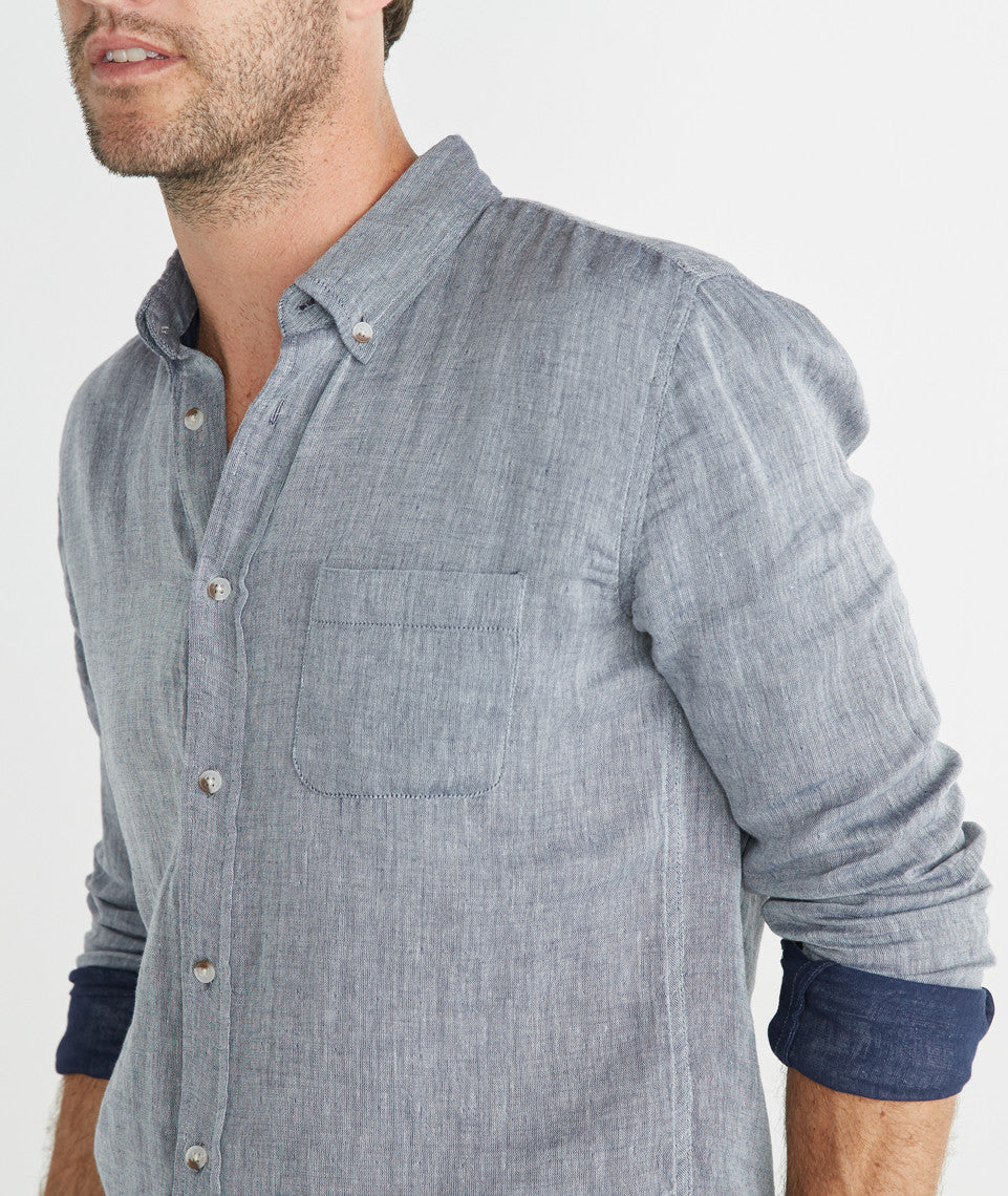 Joaquin Button Down