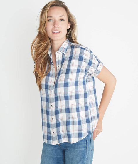 June Shortsleeve Button Down