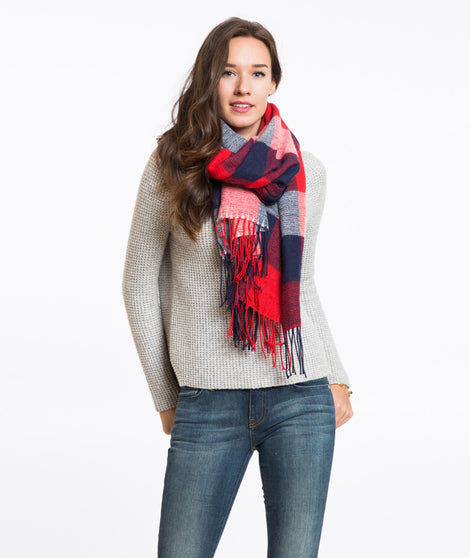 Halley Plaid Scarf