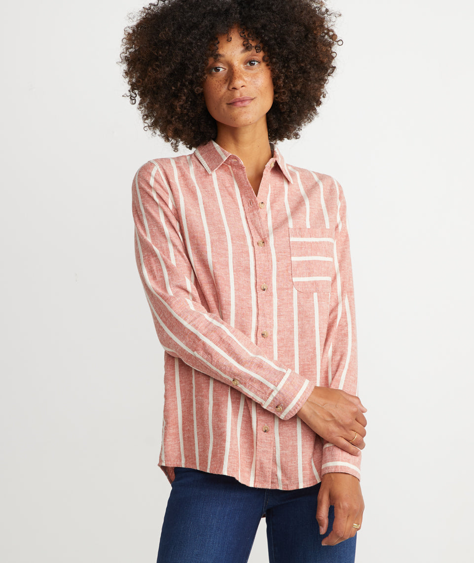 Lucille Button Down