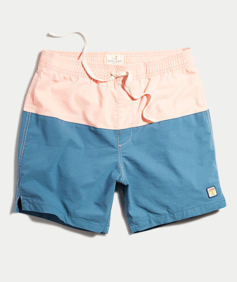 Laird Color Block Swim Trunks
