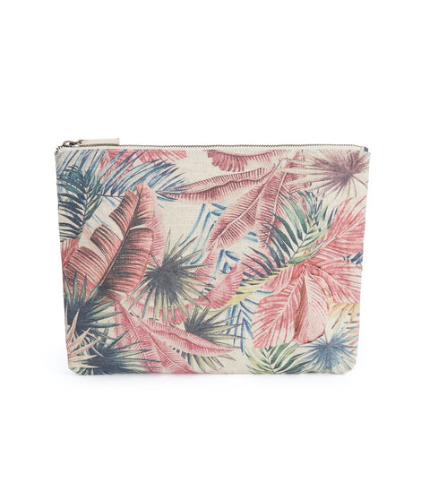Large Pouch in Vintage Floral Print