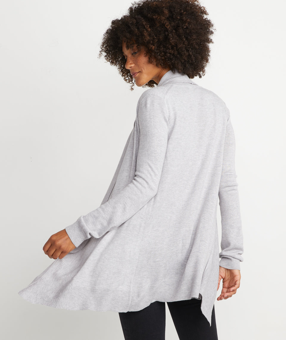 Mae Cardigan in Heather Grey