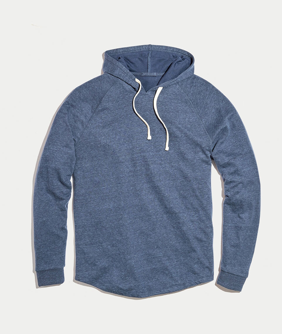 476a9ced0dcf Double Knit Hoodie in Dark Navy – Marine Layer