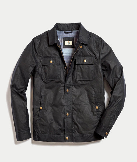 Wax Field Jacket in Dark Navy