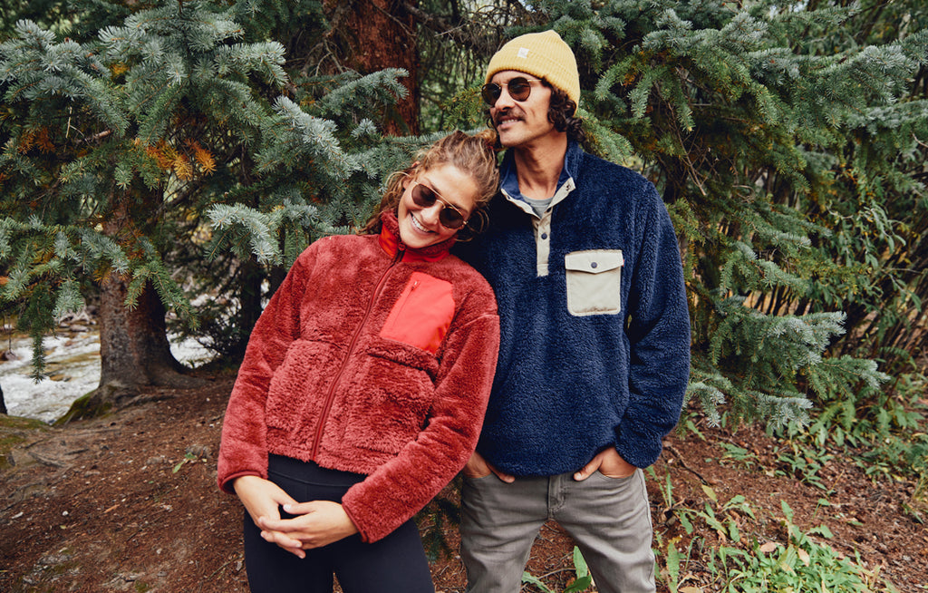 Recycled Sherpa Fleece MC