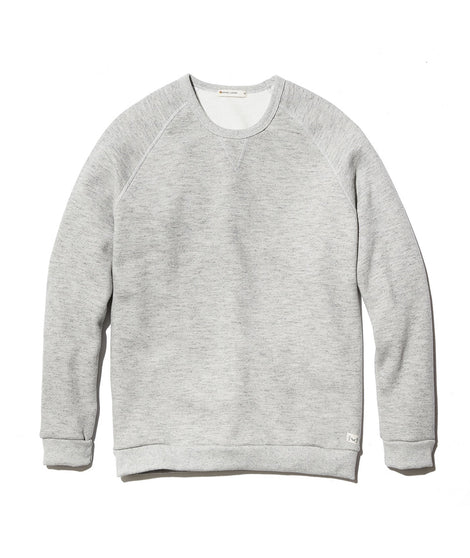 Men's Sherpa Crew Pullover in Heather Grey