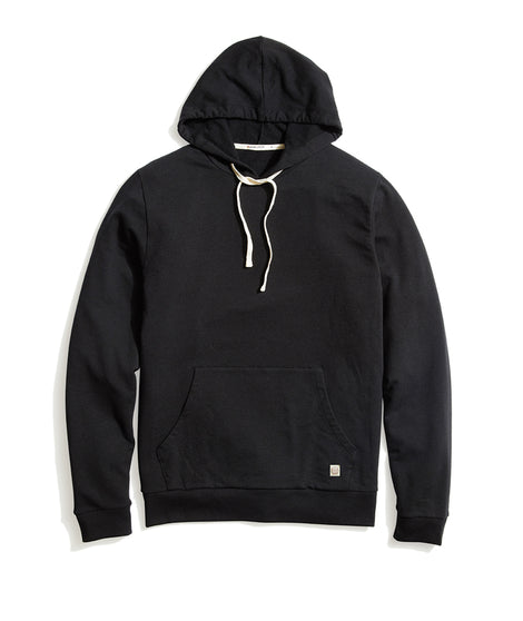 Men's Sunset Pullover Hoodie in Black