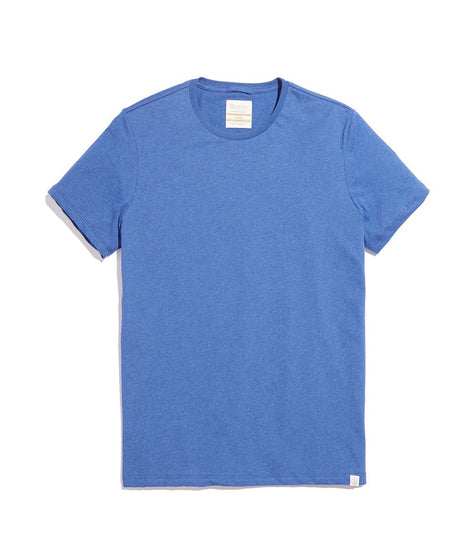 Men's Re-Spun Crew in Pacific Blue