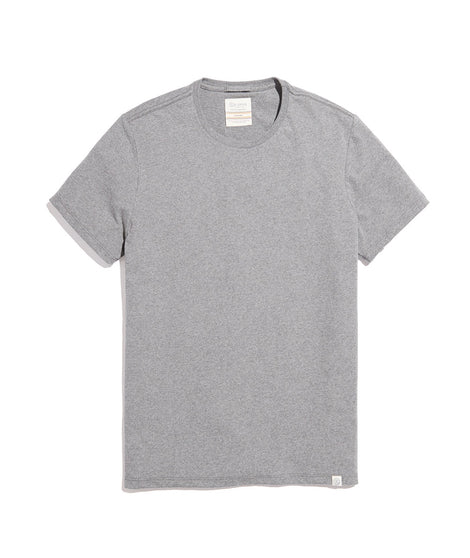 Men's Re-Spun Crew in Upcycled Grey