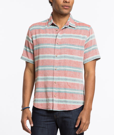 Santiago Stripe Button Down