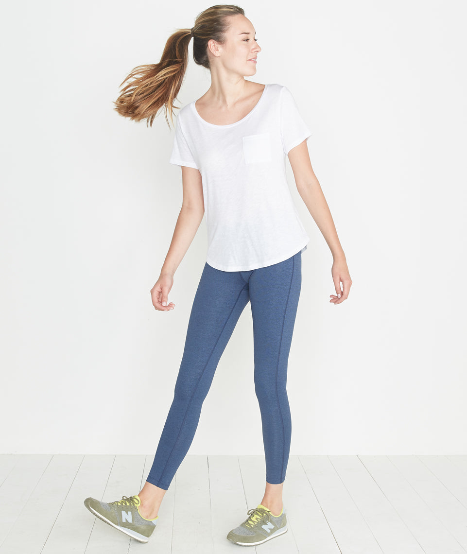 Marion Active Legging in Navy