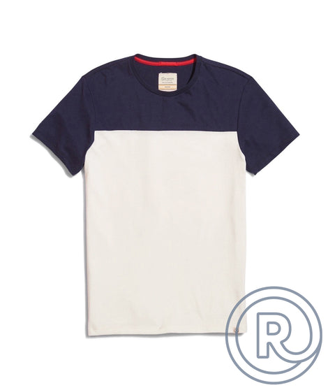 Re-Spun Colorblock Tee