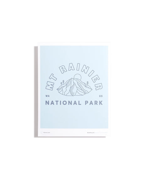The Mt. Rainier Print