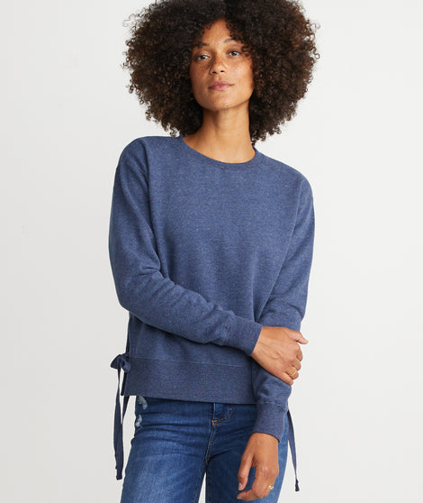 Nora Sweatshirt in Navy Heather