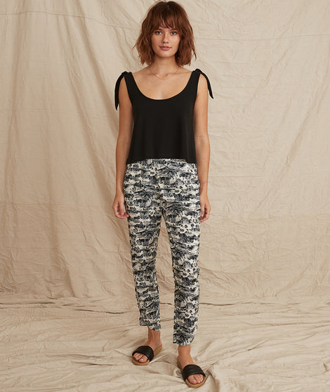 Allison Pant in SF Toile Print
