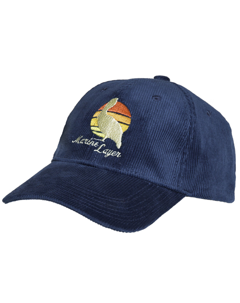 Stinson Beach Hat - Navy