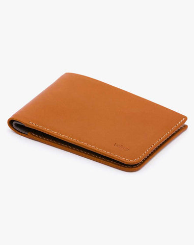 Bellroy Low Down Wallet - Caramel