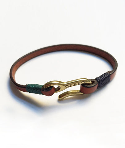 Caputo & Co. Easy Leather Bracelet