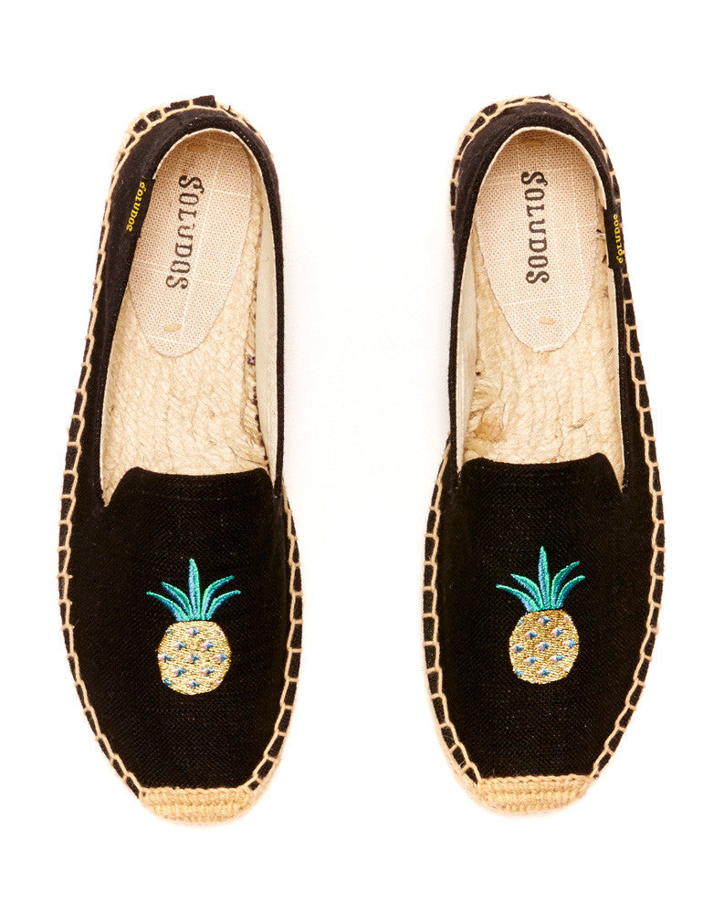 Soludos - Embroidered Smoking Slipper