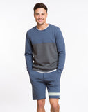 Jogger Shorts - Faded Navy