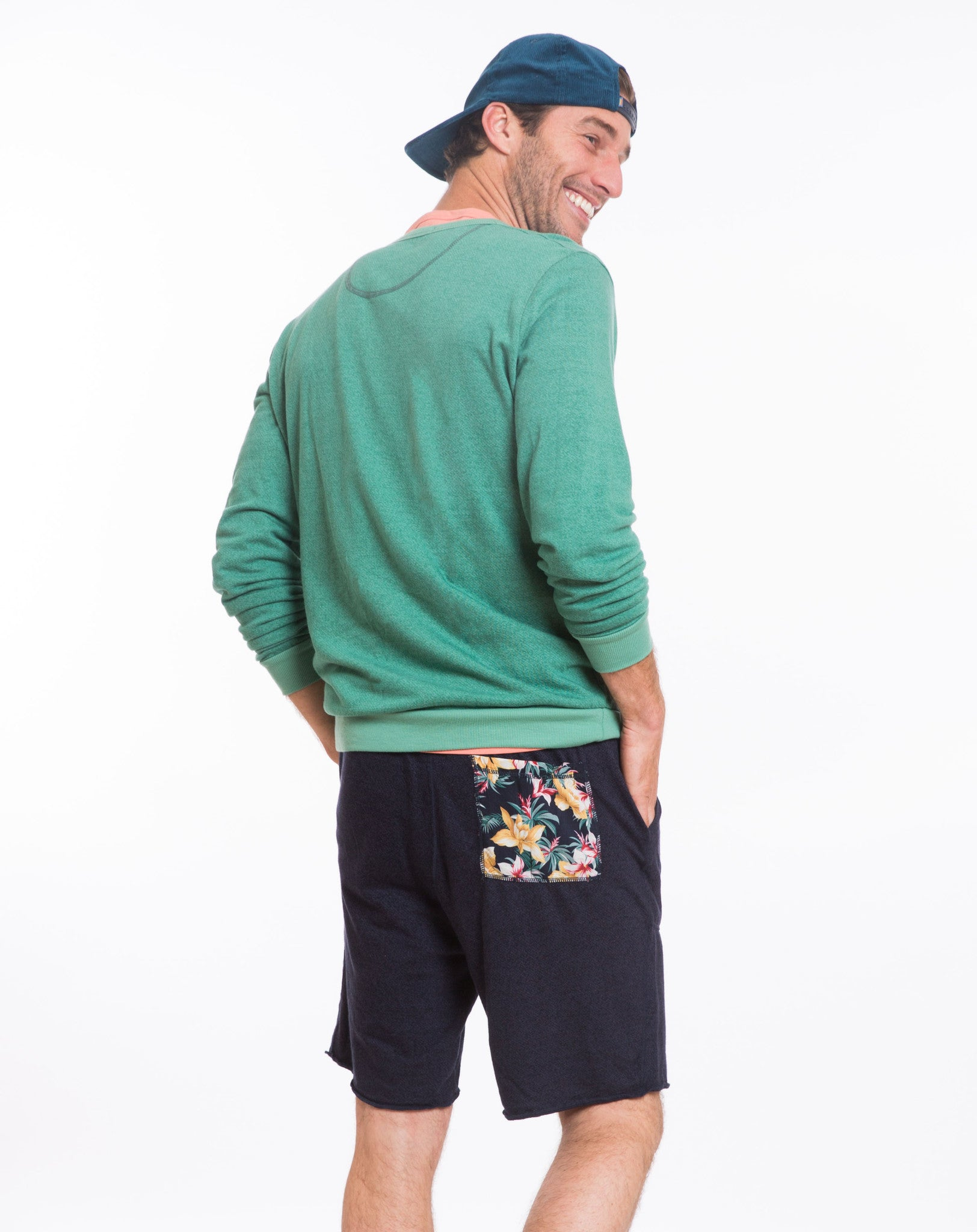 Hawaiian Pocket Jogger Shorts