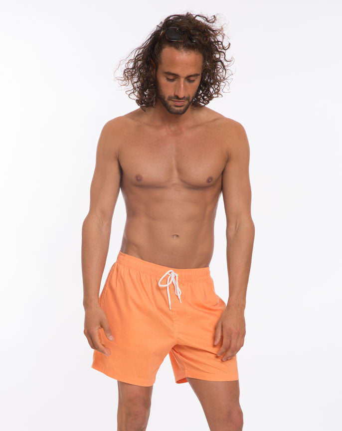 Marco Swim Trunks - Bright Orange