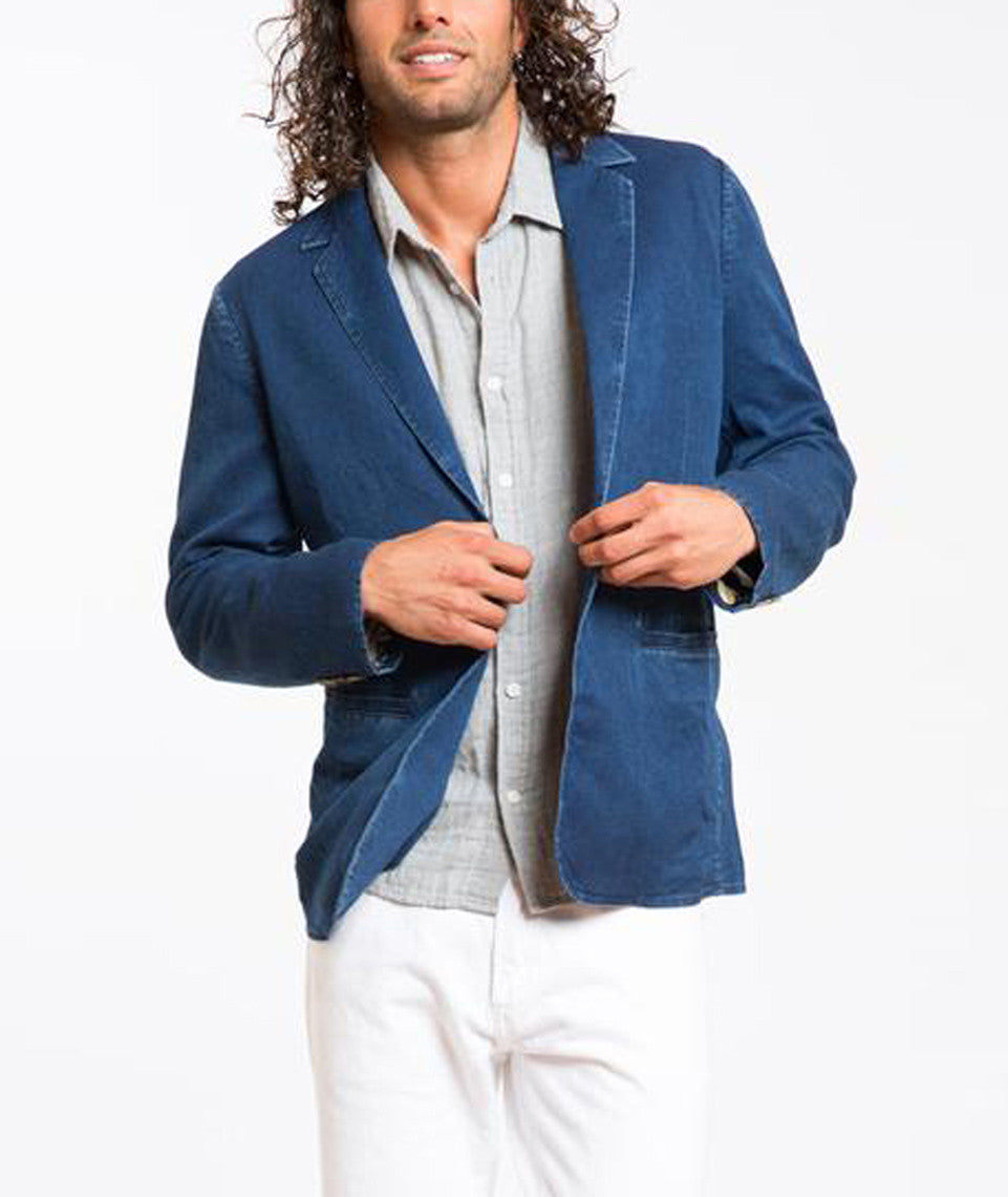 Rose all Day Denim Blazer