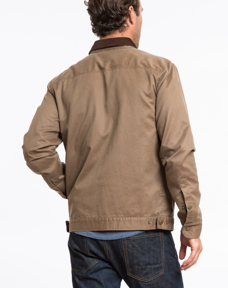 Everett Canvas Jacket