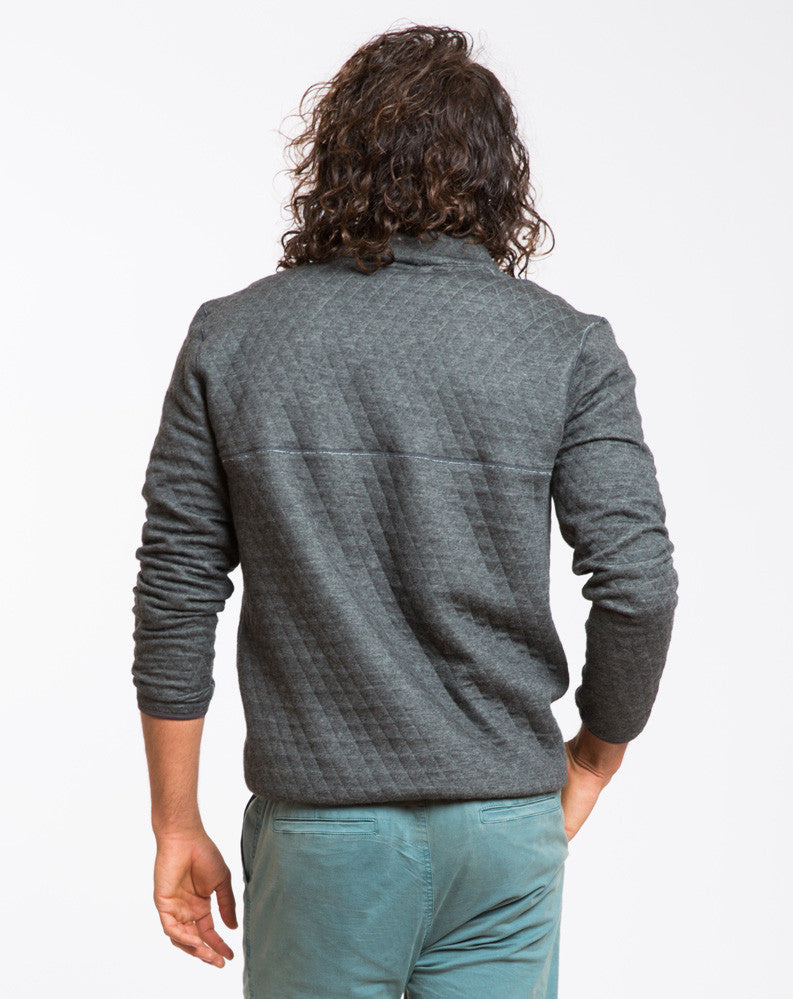 Corbet Reversible Quilted Pullover