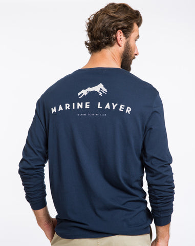 Alpine Club Longsleeve Graphic Tee