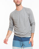 Double Knit Raglan - Heather Grey