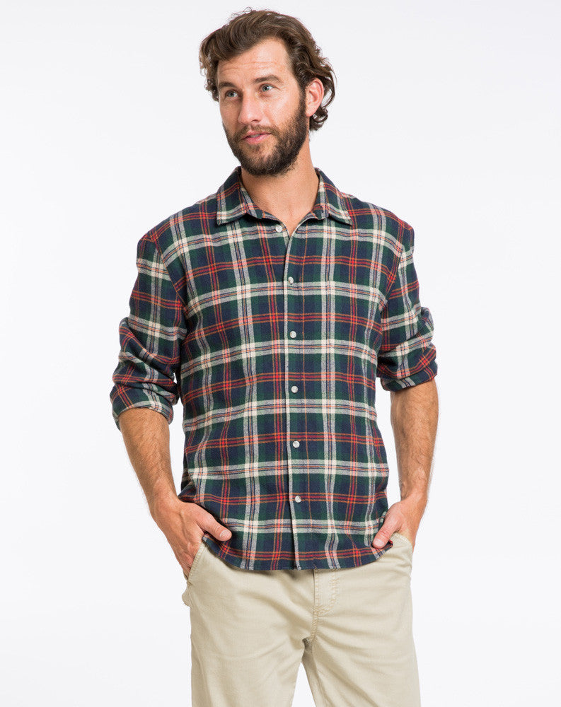 Handsome Jack Plaid Buttondown