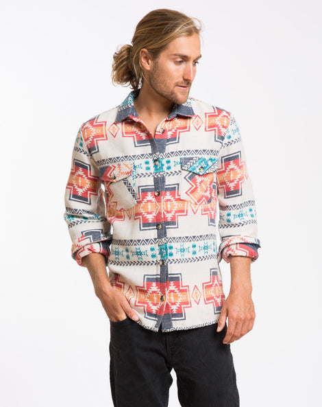 The Holbrook Aztec Shacket