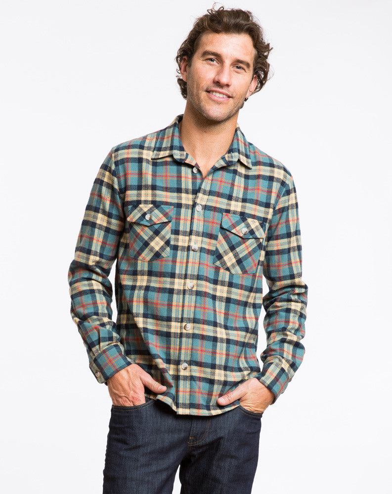 Handsome Jack Plaid Shacket