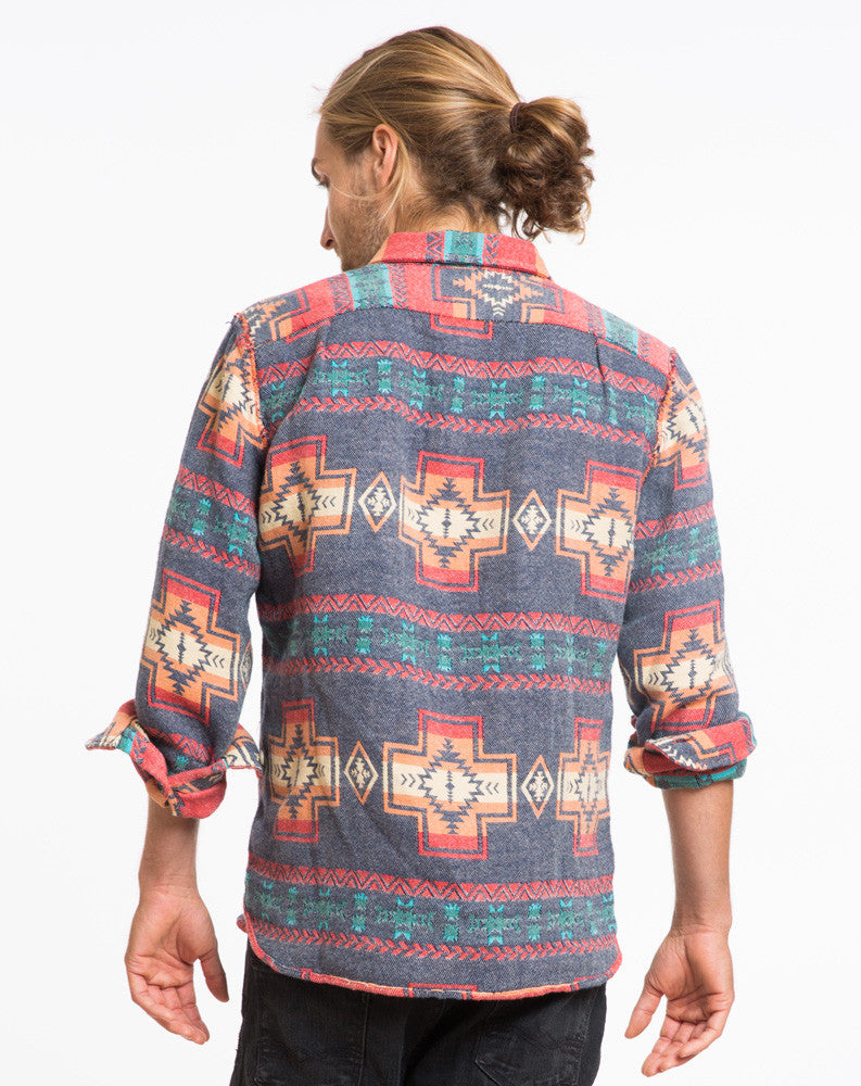 The Winslow Aztec Shacket