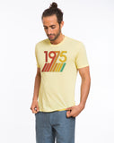 1975 Graphic Tee - Faded Yellow