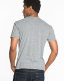 Chest Logo Graphic Tee - Heather Grey