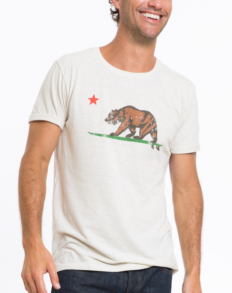 Surfing Bear Graphic Tee