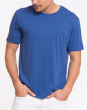 Signature Crewneck Tee - Surfer Blue