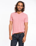 Tri-Blend V-neck - Faded Red