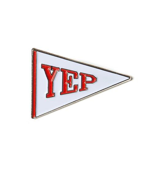 Yep Flag Pin