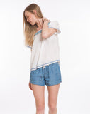 Rosie Shorts - Tencel Chambray