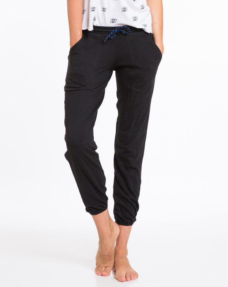 Tencel Terry Joggers - Black