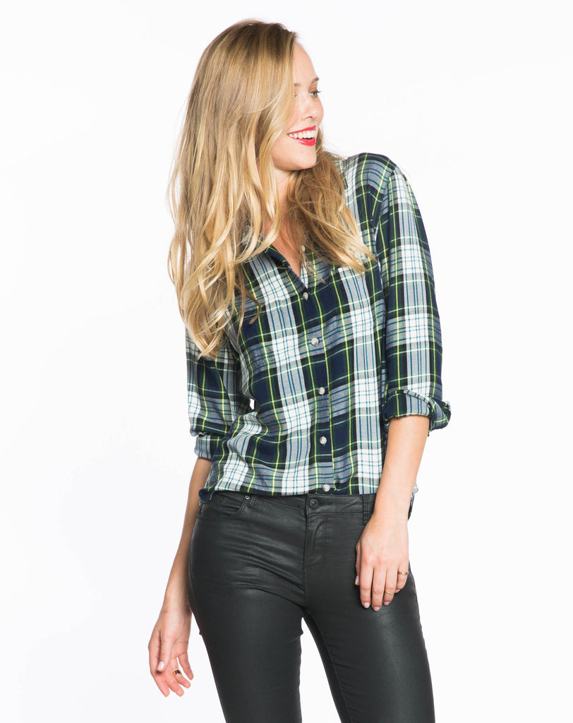The Dahlia Plaid Shirt