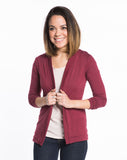 Open Cardigan - Tibetan Red