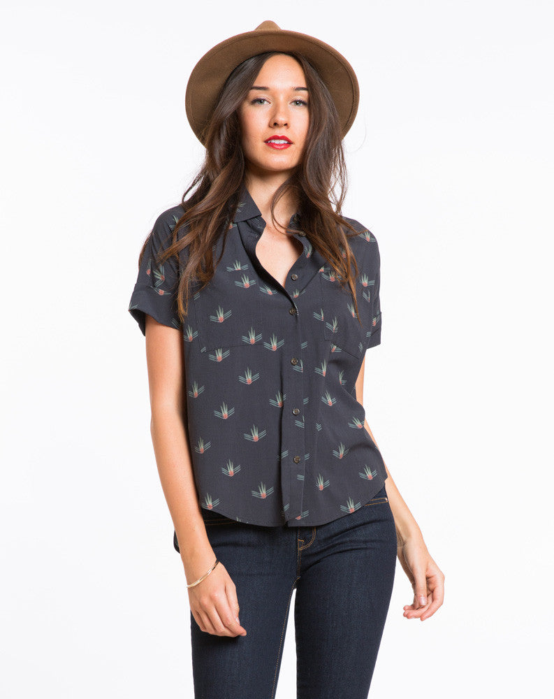The Zoey Buttondown Top