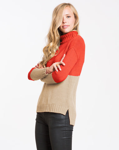 Coco Turtleneck Sweater