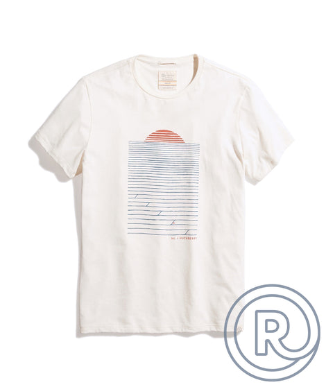 Re-Spun Huckberry Tee in Natural