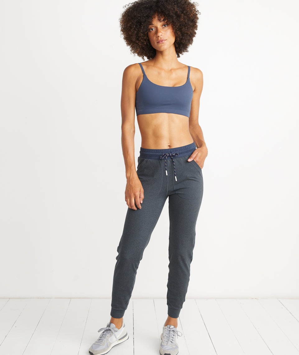 Liz Sport Jogger in Navy Heather